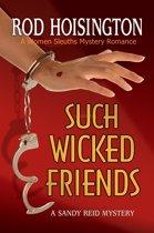 Such Wicked Friends A Women Sleuths Mystery Romance (Sandy Reid Mystery Series #3)