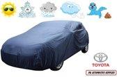 Autohoes Blauw Polyester Toyota Auris 2007-2012