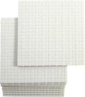 3D foam pads, afm 5x5 mm, dikte 3 mm, 10vellen