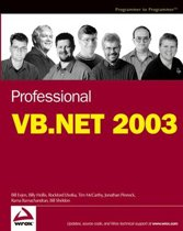 Wiley Professional VB.NET 2003