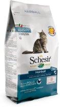 Schesir Cat Dry Hairball Kip - Kattenvoer - 1.5 kg