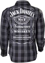 Jack Daniels - Black/Grey checks Shirt - S
