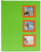 GOLDBUCH GOL-17387-G insteekalbum VIEW voor 300 foto's - Groen