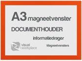 Magneetvenster A3 - Oranje