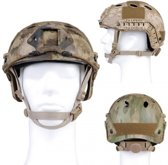 101inc Mich fast helm Airsoft Camo ICC Groen