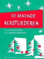 20 Bekende Kerstliederen voor zang-piano