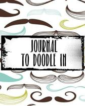 Journal To Doodle In