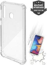 4smarts IBIZA Transparante Samsung Galaxy A20 Back Cover