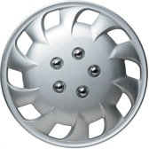 Car Plus Wieldoppen Van Edition 16 Inch Abs Zilver Set Van 4