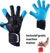 Elite - Neo Aqua - Keepershandschoenen - inclusief Reaction trainer - maat 7 - voetbal keepershandschoenen - keepershandschoen - Goalkeeper handschoen
