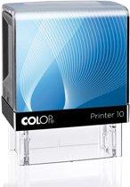 Stempel Colop 10 Blauw | Stempel laten maken | Stempels bestellen met logo en tekst | Afdrukformaat 10 x 27 mm