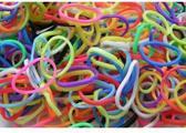 Weefstiekjes mix kleuren - 600 stuks + 24 clips