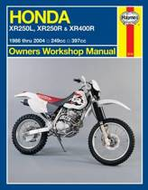 Honda XR250L, XR250R & XR400R (86 - 04)