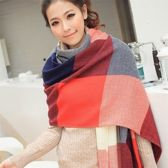 extra lange/ warme winter sjaal cashmere look (rood, grijs, wit, licht roze)