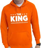 Oranje The King hoodie heren XL