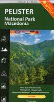 Wandelkaart / MTB-kaart Pelister Macedonie