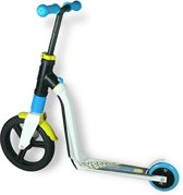 Scoot & Ride | Highway New Freak |  Step en Loopfiets in één | Blauw/Geel