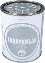 Hermadix Trappenlak antislip eXtra - 750 ml Ral 9010
