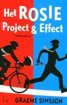 Boek cover Het Rosie Project en Effect van Graeme Simsion