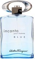 Salvatore Ferragamo Eau De Toilette Incanto Blue 100 ml - Voor Mannen