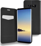 Azuri booklet ultra thin with stand function - zwart - voor Samsung Note 8