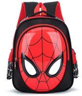 Spiderman - Rugtas - Jongens - Superheld - Schooltas - Stoer - Kindertas - Rood/Zwart - Waterproof - Rugzak - Cadeau Tip - Nieuw schooljaar - Spider-Man - Tas