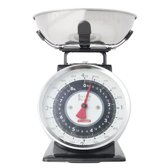 Typhoon Retro Tafelblad Mechanical kitchen scale Zwart