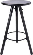 Clayre & Eef Kruk Ø 37x59 cm zwart ijzer rond