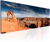 Schilderij - Grand Canyon - Panorama, 1luik, 120x40cm