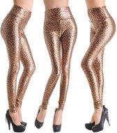 Leather Look Legging – Maat M – Luipaard