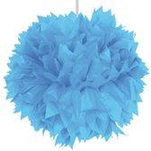 Pompom lichtblauw - 30cm