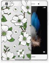 Huawei Ascend P8 Lite TPU Hoesje Design Dogwood Flowers