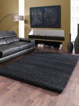 Vloerkleed Shaggy Deluxe 5533-90 Black-Melange 160x225 cm