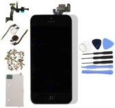 Nieuw - Voor Apple iPhone 5 - AAA+ Voorgemonteerd LCD scherm Zwart & Tools + Screen Guard