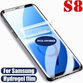 Samsung Galaxy S8 screenprotector 11D Full Cover Hydrogel film Voor Samsung Soft Curved Film Screen Protector Niet van glas