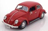 Volkswagen Kever Beetle 1955 Rood 1-18 Burago