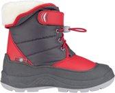 Winter-grip Snowboots Hoppin' Bieber Junior Grijs/rood Mt 35