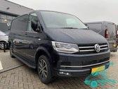 Treeplanken Volkswagen Transporter | Aluminium | VW Transporter T5 2003+ | VW Transporter T6 2015+ | L2 | Aluminium Zwart