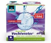 Bison vochtvreter ambiance turbo tab lavendel navulling - 2 x 100 gram