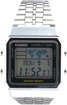 Casio A500WEA-1EF - Horloge - 33 mm - Staal - Zilverkleurig