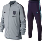 0c78685b89c Nike Dry Barcelona Trainingspak Junior Trainingspak - Maat 140 - Unisex -  grijs/paars/