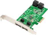 Dawicontrol DC-624E RAID RAID controller PCI Express x2 2.0