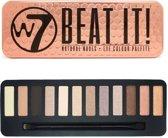 W7 Beat It! Natural Nudes Oogschaduwpalette - 12 kleuren