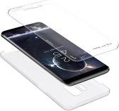 Samsung Galaxy S9 iCall - Voor en Achterkant hoesje 360 Graden Bescherming - (0.5mm)