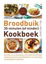 Omslag van 'Broodbuik 30-minuten (of minder) kookboek'