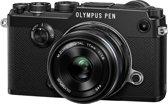 Olympus PEN F + 17 mm - Systeemcamera - Zwart