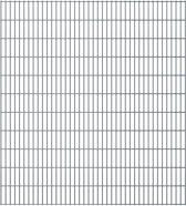 vidaXL Dubbelstaafmatten 2008 x 2230mm 28m Grijs 14 stuks