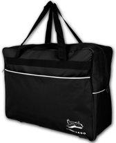 Leonardo - handbagage reistas - medium - 44 Liter - zwart