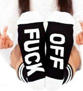 Fuck off sokken wit