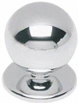 Intersteel Meubelknop ø 20 mm rond chroom